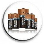 Engångsbatterier